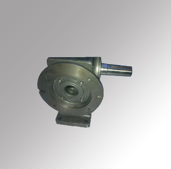 Helical Worm Gearbox With Double Out