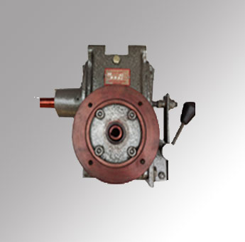 Special Worm Gearbox With Clutch - 1<