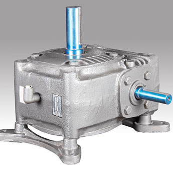 Vertical Up Worm Reduction Gearbox